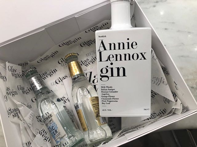 Thank you to everyone who came to the 'Evening of Music and Conversation' at Glasgow's Armadillo last night!! And MASSIVE thanks to everyone involved behind the scenes in making it happen.. I am beyond grateful! Just had to share a photo of the amazing 'Annie Lennox' gin bottle created specially for the occasion by 'GLASSWEGIN'… It has yet to be imbibed,but I surely will get round to it in the very near future! #glasswegin