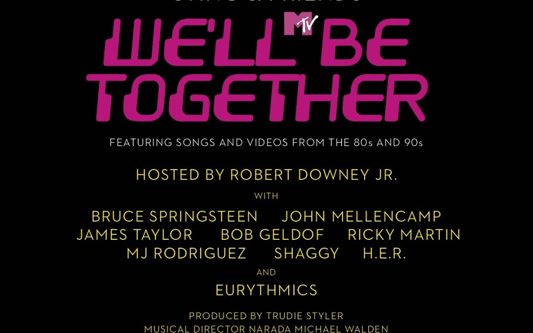 Eurythmics to play 'We'll Be Together' Fundraiser NYC