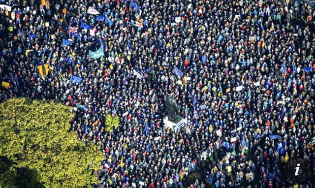 One of the greatest protest marches in British history!! Let the people decide! on a 2nd referendum..